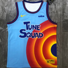 JAMES # 6 Tune Squad Concept NBA Jerseys Hot Pressed