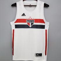 2020/21 Sao Paulo Basketball Home White Jersey