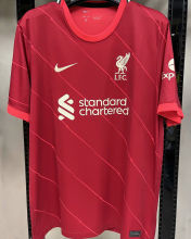 2021/22 LFC 1:1 Quality Home Red Fans Soccer Jersey