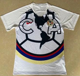2021/22 Club America White Training Short Jersey