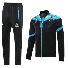 2021 Napoli Marcelo Burlon Limited Edition Black Jacket Tracksuit