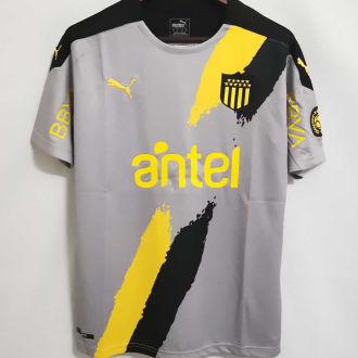 2021 Atletico Penarol Away Grey Fans Soccer Jersey