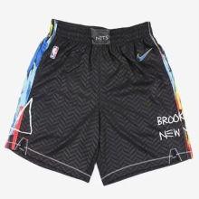 2021 Nets City Edition Black NBA Pants