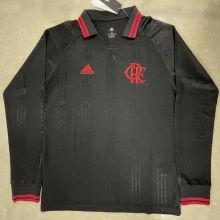 Flamengo Retro Black Icon Long Sleeve Jersey