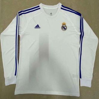 RM Retro White Icon Long Sleeve Jersey