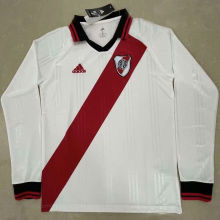 River Plate Retro White Icon Long Sleeve Jersey