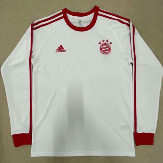 BFC Retro White Icon Long Sleeve Jersey