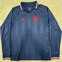 BFC Retro Blue Icon Long Sleeve Jersey