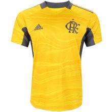2021/22 Flamengo Yellow GK Soccer Jersey