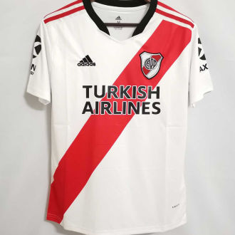 2021/22 River Plate Home White Fans Soccer Jerseys