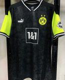 2021 BVB 1:1 Quality Commemorative Edition Black Fans Soccer Jersey