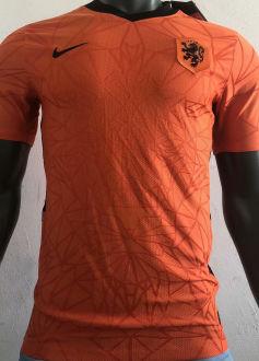 2021/22 Netherlands Home Player Soccer Jersey