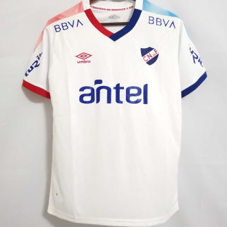 2021 Uruguay Nacional White Fans Soccer Jersey