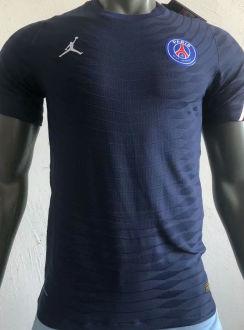 2021 PSG JD Blue Player Version Soccer Jersey