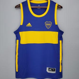 2020/21 Boca Home Blue Basketball Jersey