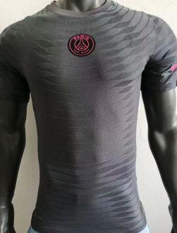 2021 PSG Black Player Version Soccer Jersey