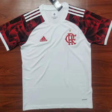 2021/22 Flamengo Away White Fans Soccer Jersey