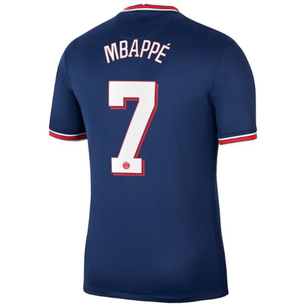 MBAPPE #7 PSG Home 1:1 Fans Soccer Jersey 2021/22 (UCL Font欧冠字体)