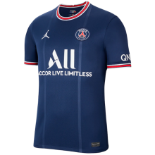 2021/22 PSG JD 1:1 Quality Home Blue Fans Soccer Jersey