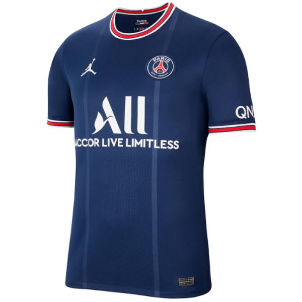 2021/22 PSG JD 1:1 Quality Home Blue Fans Soccer Jersey