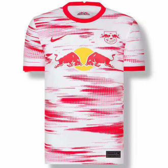 2021/22 RB L Home White Red Fans Soccer Jersey