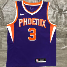 2021 Suns PAUL #3  Purplee NBA Jerseys Hot Pressed