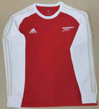 ARS Retro Red White Icon Long Sleeve Jersey