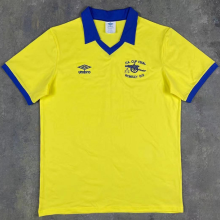 1971/1979 ARS Away Yellow Retro Soccer Jersey