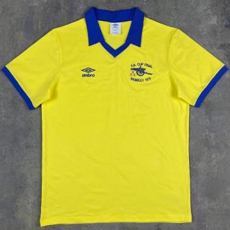 1971/1979 ARS Away Yellow Retro Soccer Jersey