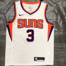 2021 Suns PAUL #3 White NBA Jerseys Hot Pressed