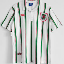 1993/1995 Wales Away White Retro Soccer Jersey