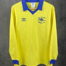 1979 ARSENAL FA CUP FINAL Yellow Retro Long Sleeve Jersey
