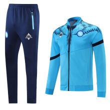 2021 Napoli Marcelo Burlon Limited Edition Blue Jacket Tracksuit