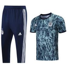 2021/22 Argentina Blue Training Short Tracksuit (LH 短裤套装)