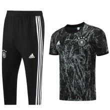 2021/22 Germany Black Training Short Tracksuit (LH 短裤套装)