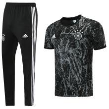 2021/22 Germany Black Training Tracksuit (LH 长裤套装)