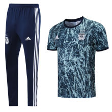 2021/22 Argentina Blue Training Tracksuit (LH 长裤套装)
