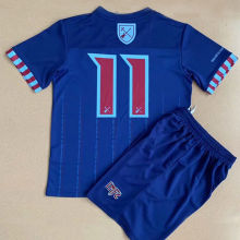 2021/22 West Ham X Iron Maiden Kids Soccer Jersey(Number 11)