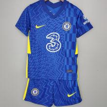 2021/22 CFC Home Blue Kids Soccer Jersey