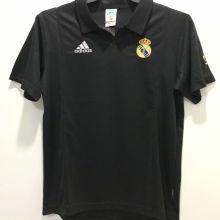 2002-2003 RM Away Black Retro Soccer Jersey
