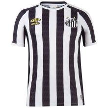 2021/22 Santos 1:1 Quality Away Black White Fans Soccer Jersey