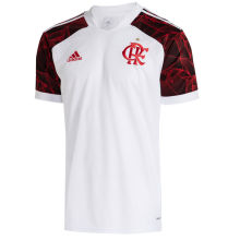 2021/22 Flamengo 1:1 Quality Away White Fans Soccer Jersey