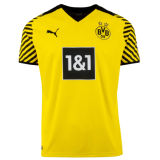 2021/22 BVB Home 1:1 Quality Yellow Fans Soccer Jersey