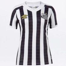 2021/22 Santos White Black Women Soccer Jersey