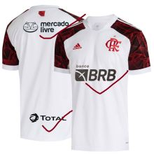 2021/22 Flamengo Away 1:1 Quality Fans Soccer Jersey (New AD新广告)