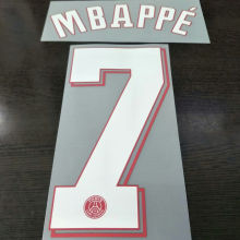 2021/22 PSG MBAPPE #7 Home Jersey UCL Fonts 欧冠字体