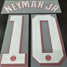 2021/22 PSG NEYMAR JR #10 Home Jersey UCL Fonts 欧冠字体
