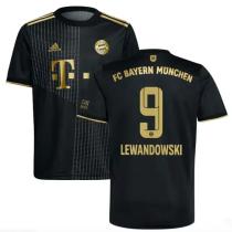 LEWANDOWSKI #9 BFC 1:1 lack Fans Soccer Jersey 2021/22