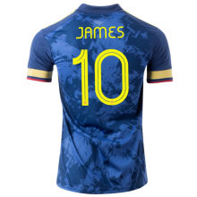 JAMES #10 Colombia Away1:1 Quality Fans Soccer Jersey 2020/21