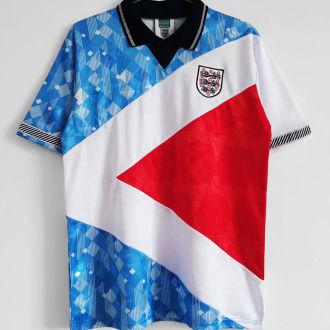 1990 England 3-Colour Special Version Retro Soccer Jersey(No umbro 无茵宝)